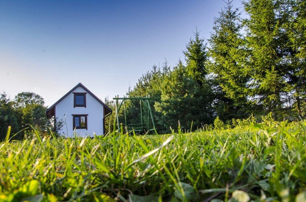 Widok na jeden z domków